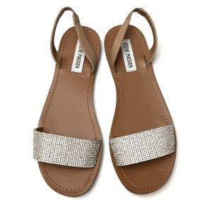 41835b726348 Women s Steve Madden Rhinestone Sandals on Poshmark